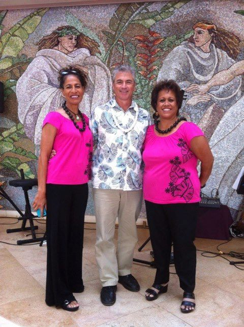 With Liz & Joni Ahumanu at Grand Wailea